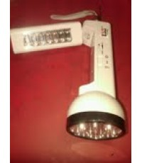ไฟฉายแอลอีดี +วิทยุFM +ไฟฉุกเฉินบ้าน 14+12Led แสงขาว