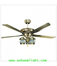 พัดลมเพดาน COPTER-S1-3L-AB+WC