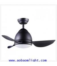 พัดลมเพดาน CT33301-LED-SB
