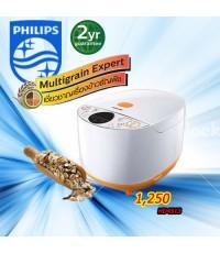PHILIPS หม้อหุงข้าว แบบดิจิตอลอัจฉริยะมัลติเกรน HD4513