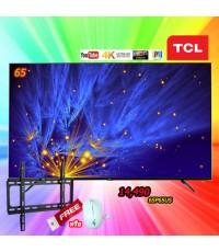 65 TCL UHD 4K TV รุ่น 65P65US  แถมฟรี ขาแขวนติดผนัง