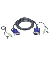 ATEN VGA CABLE WITH AUDIO 3 M รุ่น  2L-2503A
