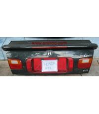 HONDA CIVIC 1992-1995 ฮอนด้า ซีวิค ปี1992-1995 ฝาท้าย รุ่น ทับทิมแดงพร้อมสปอยเลอร์