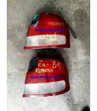 อะไหล่ HYUNDAI ELANTRA 1994-1995 ฮุนได อีแลนต้า ปี1994-1995 ไฟท้าย