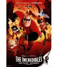 The Incredibles รวมเหล่ายอดคนพิทักษ์โลก [CT-1DVD] พากย์ไทย/บรรยายไทย