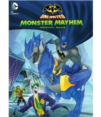 Batman Unlimited Monster Mayhem  แบทแมน ถล่มจอมวายร้ายป่วนเมือง [Master พากย์ไทย/ซับไทย][CT-1DVD]
