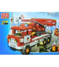 ตัวต่อชุดรถดับเพลิง (208 ชิ้น)