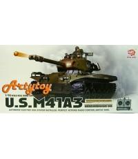 รถถังบังคับ U.S.M41A3 สุดยอดรถถังประจำกองทัพไทย  Scale1:16 มีควัน มีเสียงเครื่องยนต์ ยิงกระสุนได้