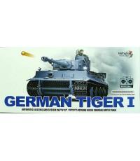 กลับมาอีกครั้ง !!  รถถังบังคับGerman TigerI  Scale1:16 มีควัน มีเสียงเครื่องยนต์ ยิงกระสุนได้