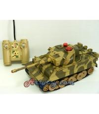 รถถังบังคับวิทยุ War Tank จากค่าย Huan Qi เล่นสนุกเหมือนจริงมีเสียงเครื่องยนต์