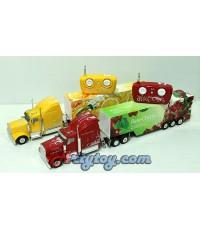 Fruit Truck (JUN )รถบังคับตู้คอนเทนเนอร์สีสันสดใส  สามารถแยกตัวรถกับตู้คอนเทนเนอร์ออกได้