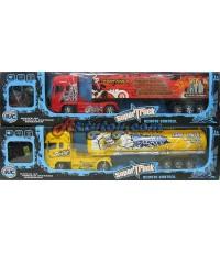 รถบรรทุกบังคับวิทยุไร้สาย Super Truck (UPN)  มีไฟที่ตัวรถ  ใส่ถ่าน AA รวม 5 ก้อน