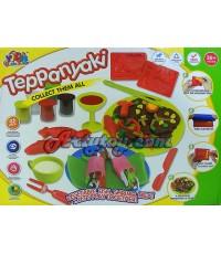 Color Clay ชุด เทปันยากิ (ZAN) แป้งโดหลากสีสำหรับปั้นเล่นตามจินตนาการ พร้อมบล๊อกพิมพ์
