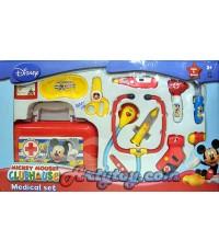 ชุดคุณหมอ(UBN) จาก Mickey Mouse Club House  อุปกรณ์ครบเซ็ต มีไฟและเสียงเวลาเล่น