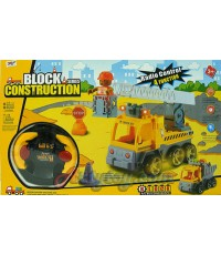 Block Construction Series(UPN) ปฏิวัติตัวต่อรูปแบบใหม่ สามารถบังคับวิทยุได้ ชุดหน่วยดับเพลิง