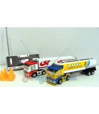 รถบรรทุกหัวลากจิ๋วบังคับวิทยุ(UTN) ขนาด 1:98  มีไฟหน้า และสปีดเทอร์โบ