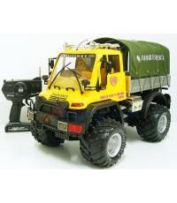 รถบรรทุกทหาร Jungle Rescue (ZEPN) ขนาด 1:8 คันใหญ่ แบตเตอรี่ชาร์ตไฟบ้าน