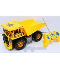 Truck Power (INB) รถดัมพ์บังคับวิทยุไร้สายคันใหญ่ แบตชาร์ตไฟบ้าน มีไฟหน้ารถ สามารถบังคับยกเทกะบะได้