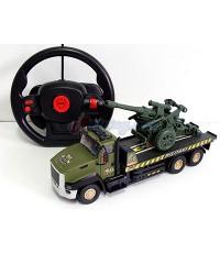 Force Super Truck (UPN) รถทหารบรรทุกปืนใหญ่บังคับ ระบบ Gravity sensor หมุนพวงมาลัยเหมือนจริง