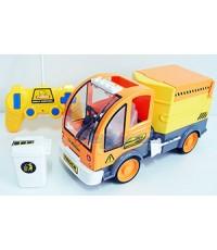 Cartoon Truck (JBN) รถเก็บขยะบังคับวิทยุไร้สายคันใหญ่ แบตชาร์ตไฟบ้าน มีไฟและเสียง สามารถบังคับยกเทกะ