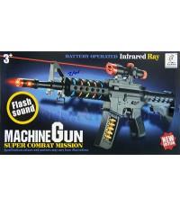 Machine Gun (ZAN) ปืนไรเฟิลติดกล้องมีไฟมีเสียง ยิงรัวได้