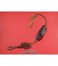 ตะกรุดผงยาจินดามณี หลวงปู่บุญ ขนาดความยาว 1.5 นิ้ว เส้นผ่าศูนย์กลาง 0.6 นิ้ว