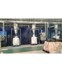 งานเก็บเสียงเครื่องบดเศษท่อ PVC  บจก.นวพลาสติก (SCG)