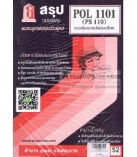 ชีทสรุป POL 1101 (PS 110) การเมืองการปกครองไทย