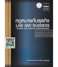 กฎหมายกับธุรกิจ แนวคิดหลักกฎหมาย และคำพิพากษา