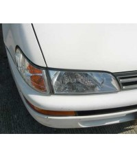 ชุดไฟหน้าเพชรสำหรับ Corolla ปี 92-95 AE 100-101-โคมขาว