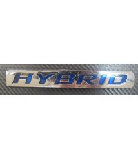 โลโก้ Hybrid-อักษรฟ้า