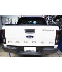 เบ้าท้ายดำด้าน Ranger 2012