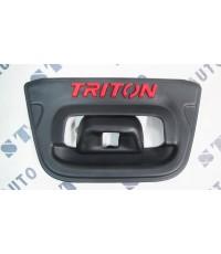 ครอบเปิดท้ายดำด้าน Triton 2014