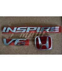 Logo INSPIRE,  V6 และ H แดง