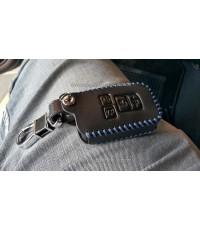 ซองหนังหุ้มกุญแจ+พวงกุญแจ Toyota Sienta