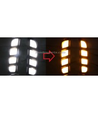 ชุดไฟกันชนหน้า Civic Type R LED (Daylight+ไฟเลี้ยว)