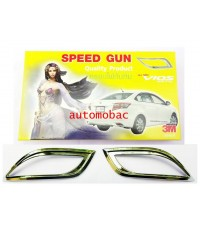 Vios all new 2013 ครอบทับทิมท้ายโครเมี่ยม ยี่ห้อ Speedgun