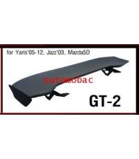สปอยเลอร์ SPOILER ติดรถ GT-2 = YARIS 05-12, JAZZ 03/08-12, MAZDA 5D
