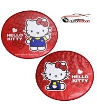 Im Kitty ม่านบังแดด ด้านข้าง แพ็คคู่ ใช้บังแดดเพื่อปกป้อง UV และความร้อน ขณะที่รถยนต์จอดตากแดด