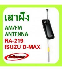 ISUZU DMAX 2002-2011 เสาวิทยุ ฝังในตัวรถ ISUZU DMAX (RA-219)