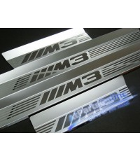 Auto Pro. กาบบันไดโครเมี่ยม M3 Sandblast รถ BMW E46 Sedan and Van Touring 320i 323i 320td 328i 330i