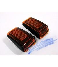 Auto Pro. ชุดแต่งไฟหรี่ Depo ไฟเลี้ยวสีส้มใส สำหรับรถวอลโว่ Volvo 850 940 960 S40 S70 V40 V70