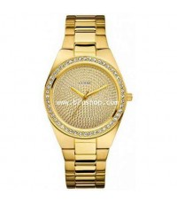 นาฬิกา  Guess U11055L1 Sporty Radiance Watch Gold