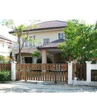(มีผู้เช่าแล้ว) บ้านเช่าราคาถูก! หมู่บ้านสโรชา อยู่ใกล้ห้าง Big-C ลำลูกกาคลอง5 บ้านน่าอยู่