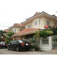 (มีผู้เช่าแล้ว) ให้เช่า! บ้านสวย ไม่แพง พร้อมเฟอร์ แอร์ 5 ตัว ทำเลดี เสรีไทย 29 ใกล้The Mall บางกะปิ