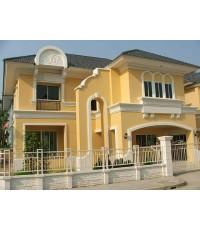 (มีผู้เช่าแล้ว) บ้านสวยให้เช่า! หมู่บ้านปริญสิริ ดิ ยูโร ไพร์ม อ่อนนุช-สุวรรณภูมิ สวยหรูหรา น่าอยู่