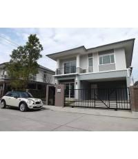 (มีผู้เช่าแล้ว)บ้านใหม่ให้เช่า บ้านเดี่ยวสวยพร้อมเฟอร์นิเจอร์ The Plant เมืองทองธานี-แจ้งวัฒนะ