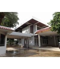 (มีผู้เช่าแล้ว)บ้านเช่าลาดพร้าว บ้านเดี่ยวหลังใหญ่ๆ หรูหรากว้างขวางใกล้ MRT ลาดพร้าว-รัชดา 100เมตร