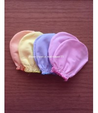 ถุงมือผ้าป่าน สีพื้น