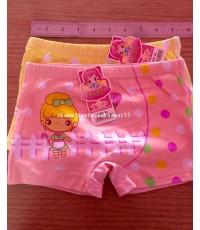 กางเกงใน Boxer เด็กผู้หญิง เบอร์ XL